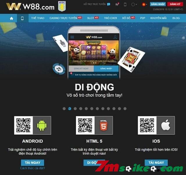 App W88 Mang Toi Trai Nghiem Ca Cuoc Dang Cap Hien Dai Va Chuyen Nghiep 1