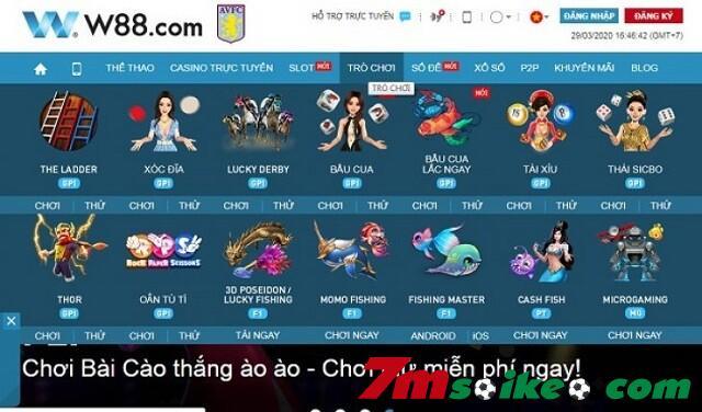 Dich Vu Cung Cap Ma W88 Cung Cap Phong Phu Va Da Dang