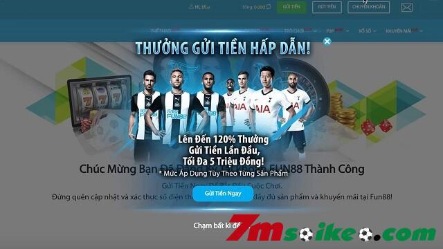 Khuyen Mai Fun88 So Luong Lon Va Tien Thuong Cao