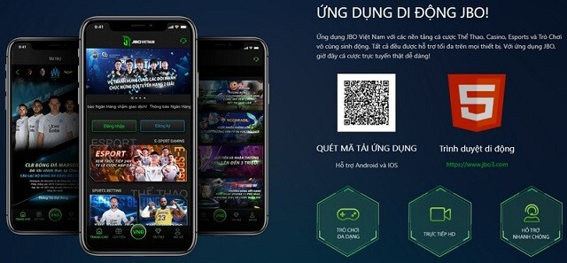 Link Tai Jbo App Cung Cap Cho Ca Dien Thoai Ios Va Android