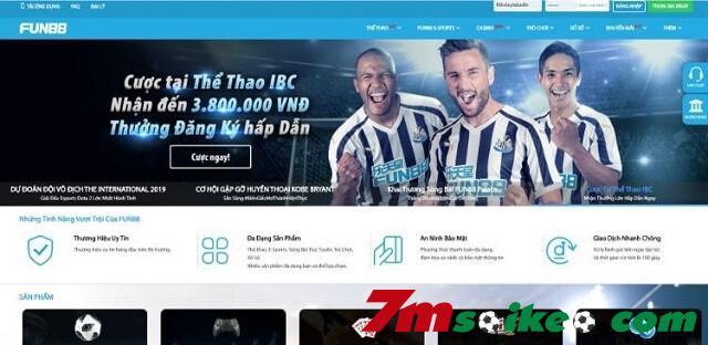 Website Cua Fun88 Chuyen Nghiep Va Thiet Ke Toi Uu