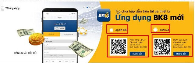 Link Tai Ung Dung Bk8 Mobile